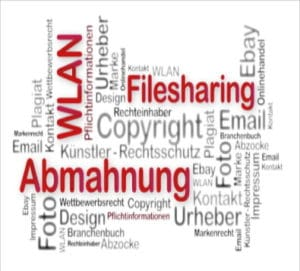 Abmahnung wegen Filesharing